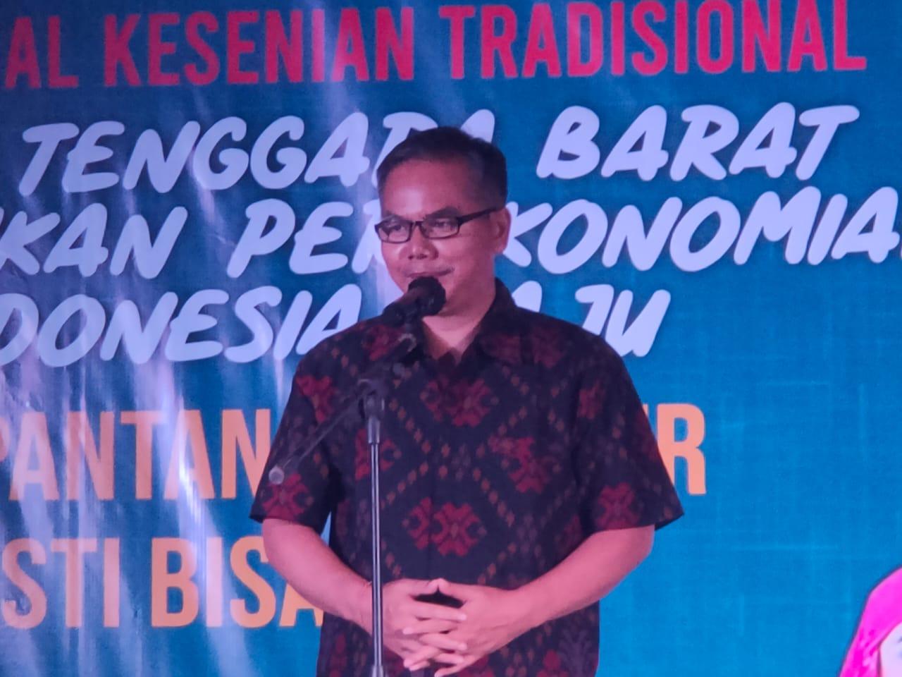 Kepala Dinas Kominfotik Provinsi NTB, Gede Putu Aryadi