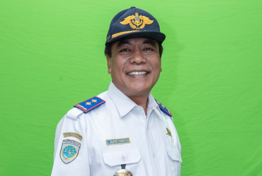 Kepala Dinas Perhubungan Provinsi NTB Drs. Lalu Bayu Windia, M.Si